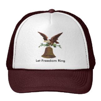 Vintage Let Freedom Ring Trucker Hat