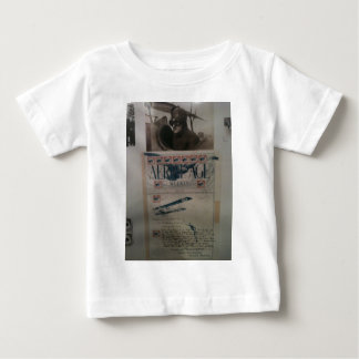 Vintage letter aviation history baby T-Shirt