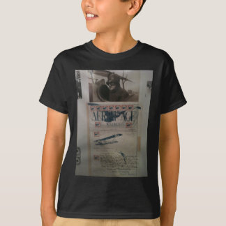 Vintage letter aviation history T-Shirt