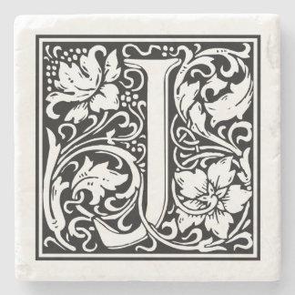 """Vintage Letter """"J"""" Stone Coaster"""