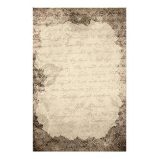 Vintage Letter  Stationery