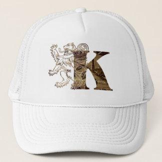 Vintage Letters K - Hat