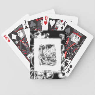 Vintage Lewis Carroll Alice in Wonderland Bicycle Playing Cards