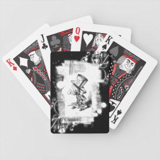 Vintage Lewis Carroll Mad Hatter Bicycle Poker Cards