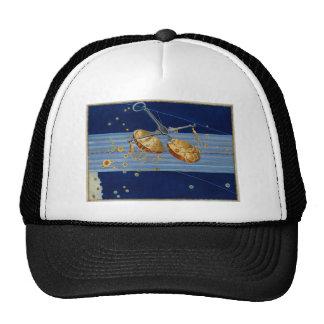 Vintage Libra Star Chart Trucker Hats
