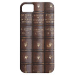 Vintage Library Books Effect Iphone 5 Case at Zazzle