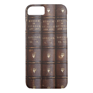 Vintage Library Books Effect iPhone 7 Case