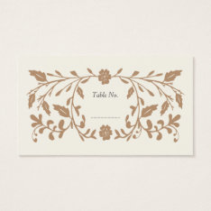 Vintage Library Wedding Place Cards 100 Pk at Zazzle