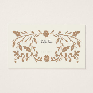 Vintage Library Wedding Place Cards 100 pk