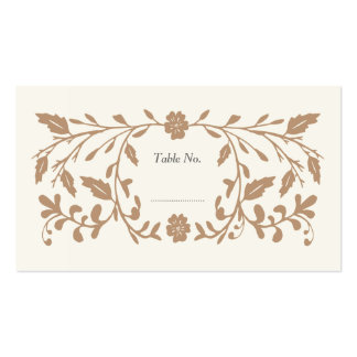 Vintage Library Wedding Place Cards 100 pk Business Card