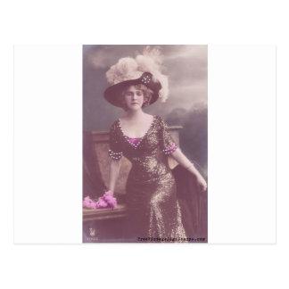 vintage libre 01 imprimible - Victorian Lady.jpg Postales