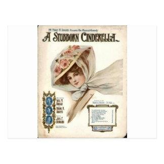 vintage libre imprimible - señora image.jpg de las postal