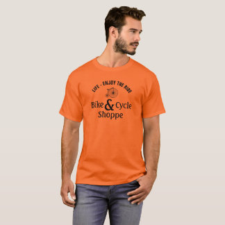 Vintage Life - Enjoy the ride bike and cycle shopp T-Shirt