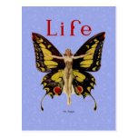 Vintage Life Flapper Butterfly 1922 Postcards