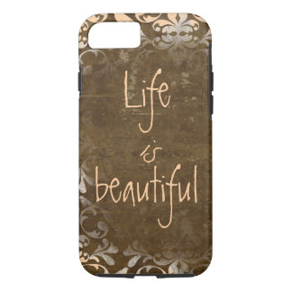 Vintage Life is Beautiful iPhone 7 case