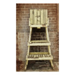 Vintage Lifeguard Chair Posters