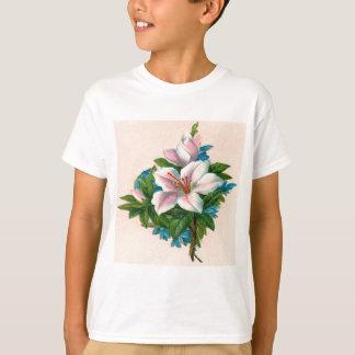 Vintage Light Pink Flower T-Shirt