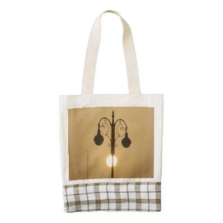 Vintage Light Shopping Zazzle HEART Tote Bag