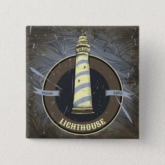 Vintage Lighthouse | 1960 Pinback Button