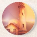 Vintage Lighthouse Coaster