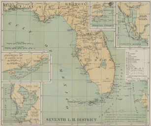 Florida Lighthouses Map.Florida Lighthouses Posters Photo Prints Zazzle