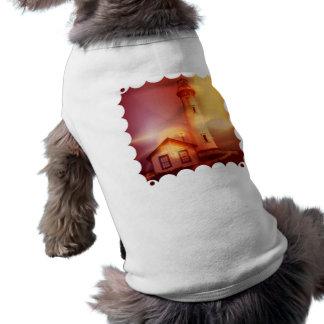 Vintage Lighthouse Pet Shirt