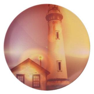 Vintage Lighthouse Plate