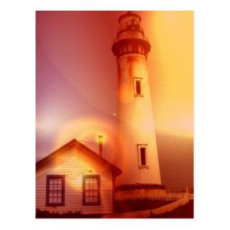 Vintage Lighthouse Postcard