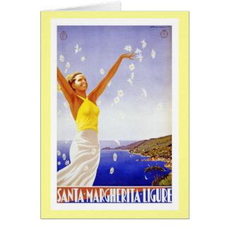 Vintage Ligure Savona Card