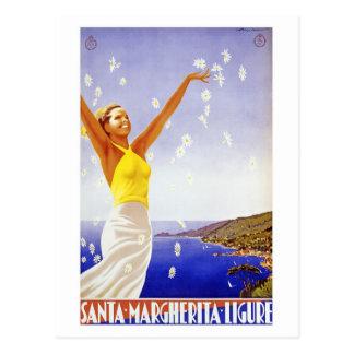 Vintage Ligure Savona Postcard