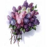 Vintage Lilac Bouquet Photo Sculpture