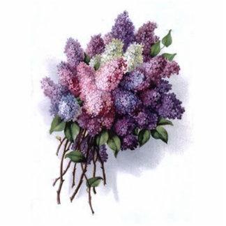 Vintage Lilac Bouquet Photo Cut Out