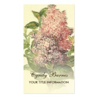 Vintage Lilac Business Card