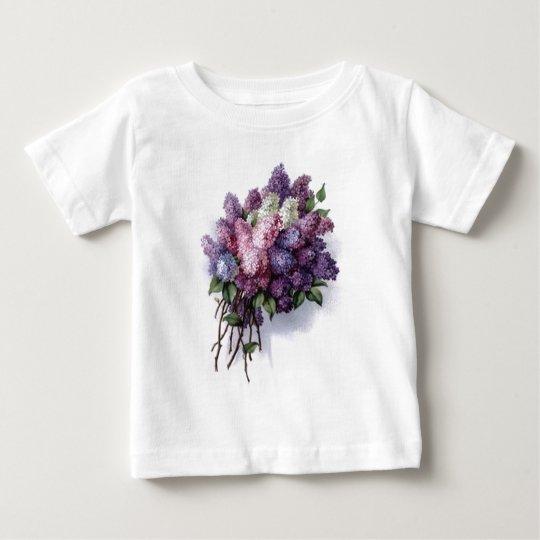 Vintage Lilacs Baby T-Shirt