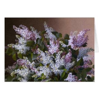 Vintage Lilacs Card