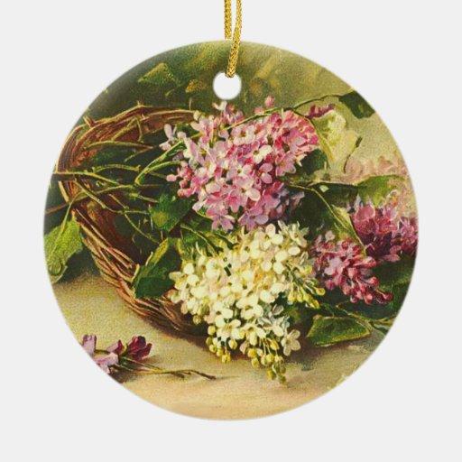 Vintage Lilacs Ornament