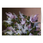 Vintage Lilacs Thank You Greeting Card