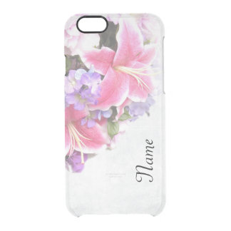 Vintage Lillies Clear iPhone 6/6S Case