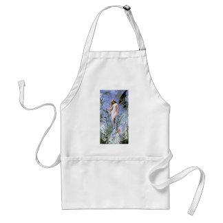Vintage Lily Fairy Adult Apron