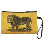 Vintage Lion Illustration -1800's African Animal Wristlets