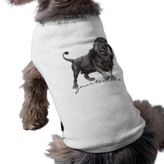 Vintage Lion Pet Shirt