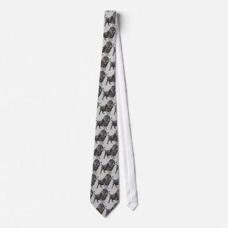 Vintage Lion Tie