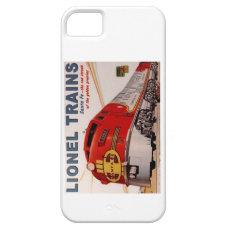 Vintage Lionel Train Poster iPhone 5/5s Case