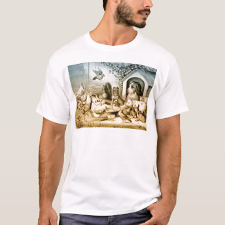 Vintage Lithograph of animals. T-Shirt