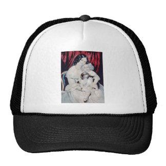 Vintage Lithograph Portrait Trucker Hat