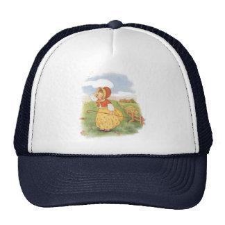 Vintage Little Bo Peep Mother Goose Nursery Rhyme Trucker Hat