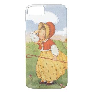 Vintage Little Bo Peep Mother Goose Nursery Rhyme iPhone 7 Case