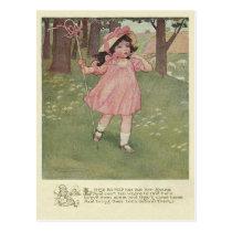 Vintage Little Bo Peep Postcard