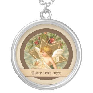 Vintage little cute Christmas angel and star Custom Jewelry