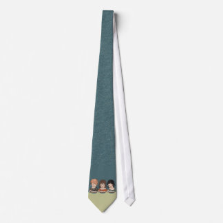 Vintage Little Girls Eating Soup Three Sisters Tie